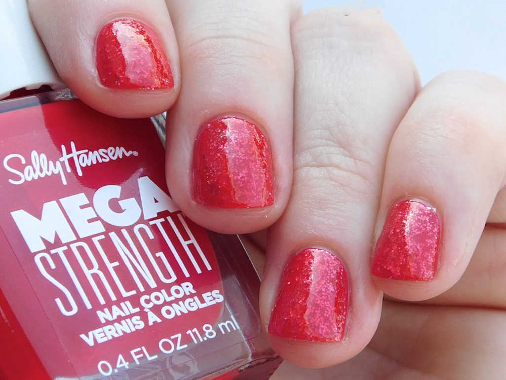 Sally Hansen Mega Strength Nail Polish in Class Act